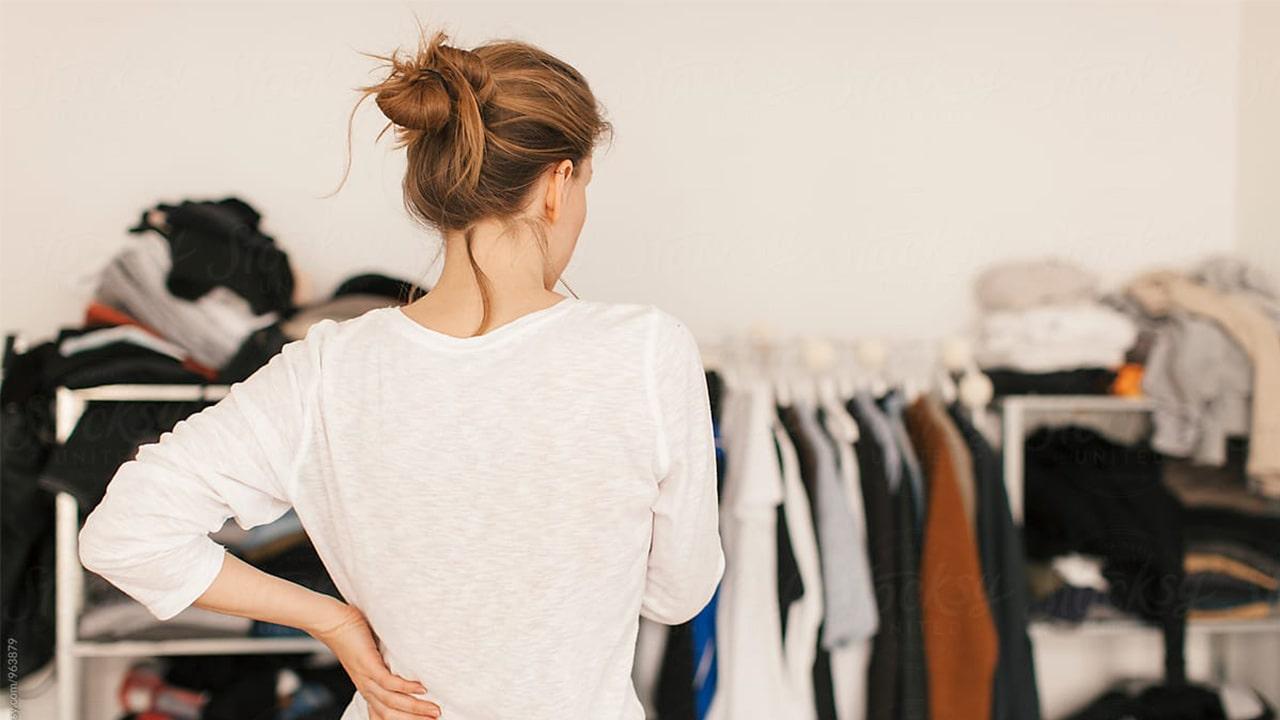 girl in wardrobe