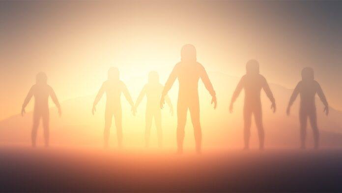 aliens create humans